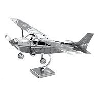 Mô hình tự lắp ráp 3D bằng kim loại không gỉ cao cấp - Máy bay Cessna thumbnail