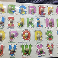 Bảng Chữ Tiếng Anh núm gỗ thumbnail