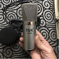 Mic thu âm livestream ISK AT350, Lọc ồn 2 lớp, cắm vào smartphone, máy tính bảng, Laptop, máy tính để bàn, sound card, TN Bluetooth Siêu Bass Có Mic Đàm Thoại Thích Hợp các cuộc họp, hội nghị và học trực tuyến trên Zoom- Hàng nhập khẩu thumbnail