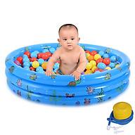 Bể Bơi 3 Tầng Cao Cấp Cho Bé K-826 (Mầu Ngẫu Nhiên) - Tặng kèm bơm thumbnail