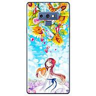 Ô p Lưng Dành Cho Samsung Galaxy Note 9 - Anime Cô Ga i Hoa Hươ ng Dương thumbnail