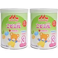 Combo 2 lon Sữa Morinaga số 3 Hương dâu (Kodomil) 850g thumbnail
