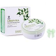 Kem massage mát xa căng cơ mặt chiết xuất trà xanh thảo dược Dabo Hàn quốc ( 200ml) và nơ thumbnail