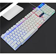 Bàn phím game thủ giả cơ Divipard GK-50 LED Rainbow - Hàng nhập khẩu thumbnail