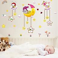 Decal dán tường decor phòng ngủ cho bé thumbnail