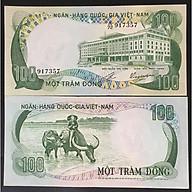 Tờ lưu niệm hình Con Trâu 100 đồng ở Việt Nam, dùng để lì xì, sưu tầm, lưu niệm, trang trí trong nhà dịp Tết Tân Sửu 2021 - SP001805 thumbnail