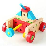 Bộ đồ chơi lắp ráp sáng tạo - đồ chơi gỗ thumbnail