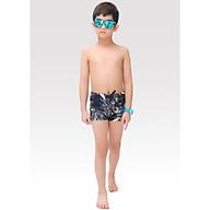 Quần bơi bé trai Narsis KQ0002 màu đen vân đá thumbnail