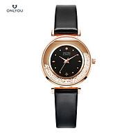 Đồng hồ Onlyou Nữ 50063LB Dây da 32mm thumbnail