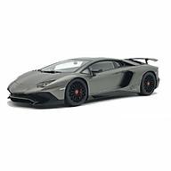 Xe Mô Hình Mh Lamborghini Aventador Lp750-4 Sv 1 18 Autoart - 74554 (Xám) thumbnail
