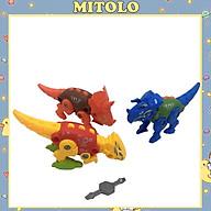 Đồ chơi cho bé mô hình khủng long lắp ráp Mitolo lắp ráp lắp ghép mô hình động vật bò sát 910 thumbnail