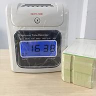 Máy chấm công thẻ giấy đồng hồ điện tử Okyo N08 - Hàng nhập khẩu thumbnail