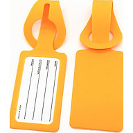 Siaonvr Silicone Luggage Tag Trolley Case Anti-Lost Identification Card Information thumbnail