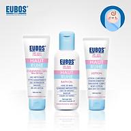 Combo gel tắm gội cho bé EUBOS 125ml + lotion dưỡng ẩm cho bé EUBOS 125ml + dầu tắm dưỡng ẩm cho bé EUBOS 125ml thumbnail