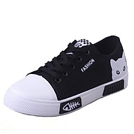 (B-6)Giày sneaker nữ thể thao - Giày cho.se đế chống trơn - Phối đồ dễ dàng thumbnail
