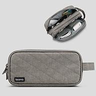 Túi đựng cáp sạc phụ kiện công nghệ 2 ngăn dáng dọc Baona - Hàng nhập khẩu thumbnail