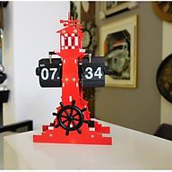 Đồng hồ hình ngọn hải đăng màu đỏ thumbnail