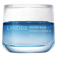 Laneige Water Bank Hydro Cream EX 50ml + Tặng 1 Innisfree Green Tea Mask Sheet thumbnail