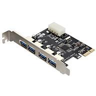 Card chuyển đổi PCI Express sang USB 3.0 4 port (Đen) thumbnail