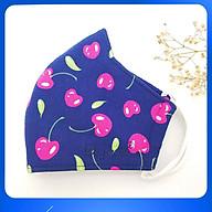 Khẩu Trang Vải Cao Cấp Duy Ngọc - Cherry (8571) thumbnail