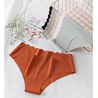 Combo 5 Quần Lót Nữ Su Đúc Không Đường May Viền Lưng, Freesize, Giao Nhiều Màu Tặng Kèm 5 Thun Cột Tóc Siêu Xinh thumbnail