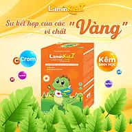 [Combo 4] Cốm Laminkid I - Tiêu hoá tốt, trẻ ăn ngon, giúp tăng sức đề kháng và tăng cân tự nhiên thumbnail