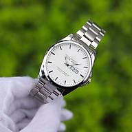 Đồng hồ nam dây kim loại cao cấp Thiết kế sang trọng, lịch lãm, dễ phối đồ Mặt kính cứng chống xước, chống nước hiệu quả - Hiển thị lịch ngày tháng - RL002188 thumbnail