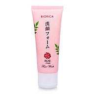 Sữa rửa mặt trắng da sạch nhờn Biorica rose Nhật bản ( 50g) thumbnail