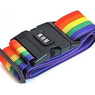 Dây đai khóa Vali, khóa hành lý chống trộm 3 số (2m) thumbnail
