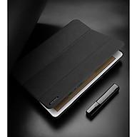 Bao da chống sốc kèm khay đựng bút cho Apple iPad New 9.7 (2017 2018) thương hiệu DUX DUCIS Domo Series cao cấp - Hàng nhập khẩu. thumbnail