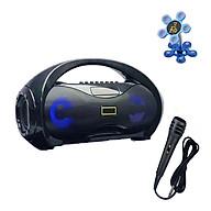 Loa Karaoke Bluetooth Xách Tay KM S2 Siêu Bass Kèm Mic Hát Tặng Giá Đỡ Điện Thoại Hình Hoa thumbnail