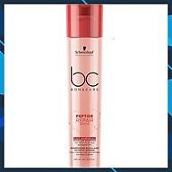 Bộ dầu gội xả Schwarzkopf BC Bonacure Peptide Rescure Repair phục hồi tóc hư tổn theo cấp độ 250ml - Chính hãng Đức thumbnail