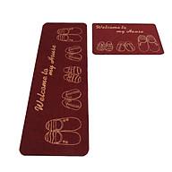 Combo 02 thảm nhà bếp cao cấp chống trượt (KT 40cm x 60cm và 40cm x 120 cm) màu ngẫu nhiên thumbnail