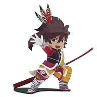 Mô hình giấy cắt dán thủ công Anime Game chibi cute Maeda Keiji - Sengoku BASARA thumbnail