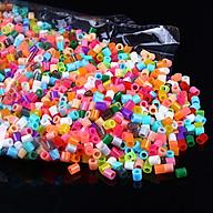 Đồ chơi xếp hình bằng 1000 hạt Perler beads, Hama beads (Loại to 5mm) - Trộn đủ màu sắc thumbnail