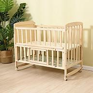 Giường ngủ cho bé 2 tầng , cũi gỗ cho bé thumbnail