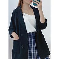 Áo Blazer Khoác Ngoài Dài Tay Nhiều Màu Kiểu Dáng Trẻ Trung - A.016 thumbnail