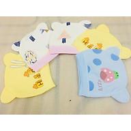 Combo 5 Mũ Che Thóp Cotton Mềm Cho Trẻ Sơ Sinh 0-8 Tháng- Họa Tiết Ngộ Nghĩnh - ( Màu Ngẫu Nhiên ) thumbnail