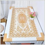 Khăn trải bàn kích thước 60x120cm, ren hoa cao cấp thumbnail