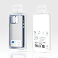 Ốp lưng trong suốt iPhone 12 12 Pro 12 pro Max Rock Guard Pro viền màu - Hàng chính hãng thumbnail