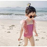 Bộ đồ bơi liền kèm chân váy xoè đáng yêu dành cho bé (chân váy rời) mã C22 thumbnail