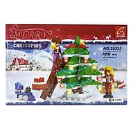Bộ Lắp Ghép Giáng Sinh Hạnh Phúc Ausini 25325 thumbnail