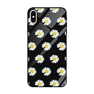 Ốp lưng kính cường lực cho iPhone Xs Max Nền Họa Tiết Hoa Cúc Peace - Hàng Chính Hãng thumbnail