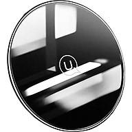Đế sạc nhanh không dây USAMS - công suất 10W, mặt cường lực - hàng chính hãng thumbnail