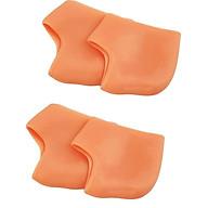 Combo 2 bộ miếng bảo vệ gót chân Silicon - Màu Cam (2 miếng bộ) thumbnail