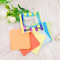 Combo 200 tờ giấy xếp hạc nhiều màu khổ 65 x 65 mm thumbnail