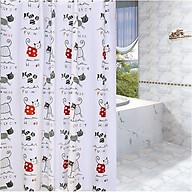Rèm Phòng tắm PEVA không thấm nước 1.8m - mèo con thumbnail