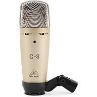 Behringer C-3 - Micro Condenser 48v Màng Thu Kép Lớn 16mm, 3 Hướng Thu - Hàng Chính Hãng thumbnail