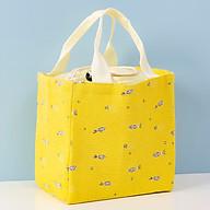 Túi đựng hộp cơm giữ nhiệt Túi đựng đồ ăn trưa Túi chống toả nhiệt ( 20 x 18 x 14) TL 166 - Quà Tặng Bộ Thìa Dĩa Cá Nhân Cao Cấp thumbnail