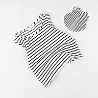 Áo croptop nữ đen và trắng 03746-03747 thumbnail